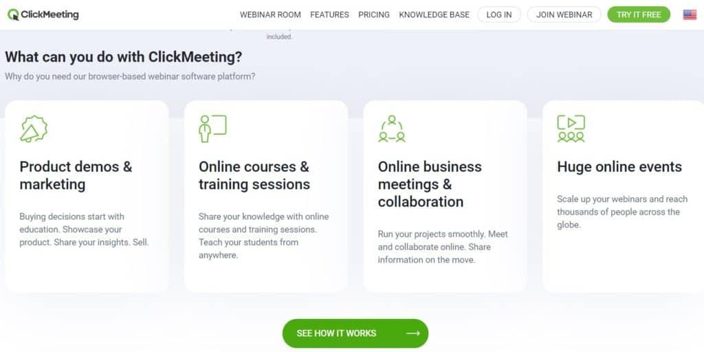 Best Webinar Software - ClickMeeting
