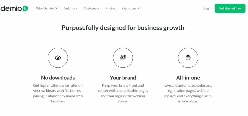 Demio Pricing - Demio webinar Review