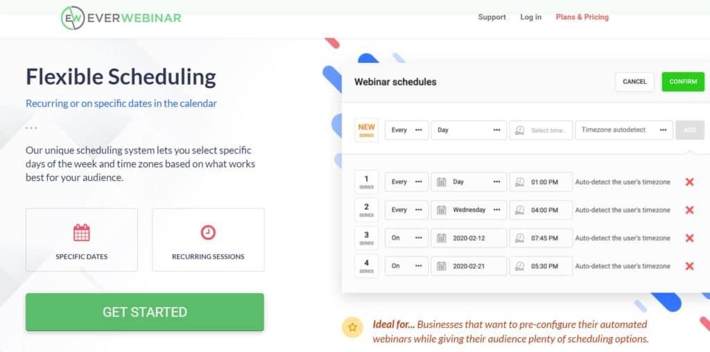 Everwebinar Pricing 2020 - Complete Everwebinar Review