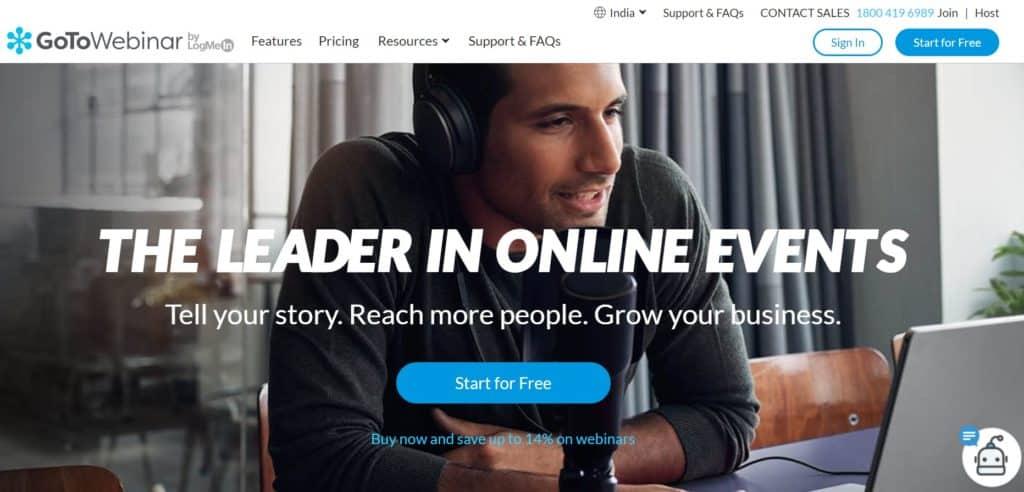 Best Webinar Software - GoToWebinar