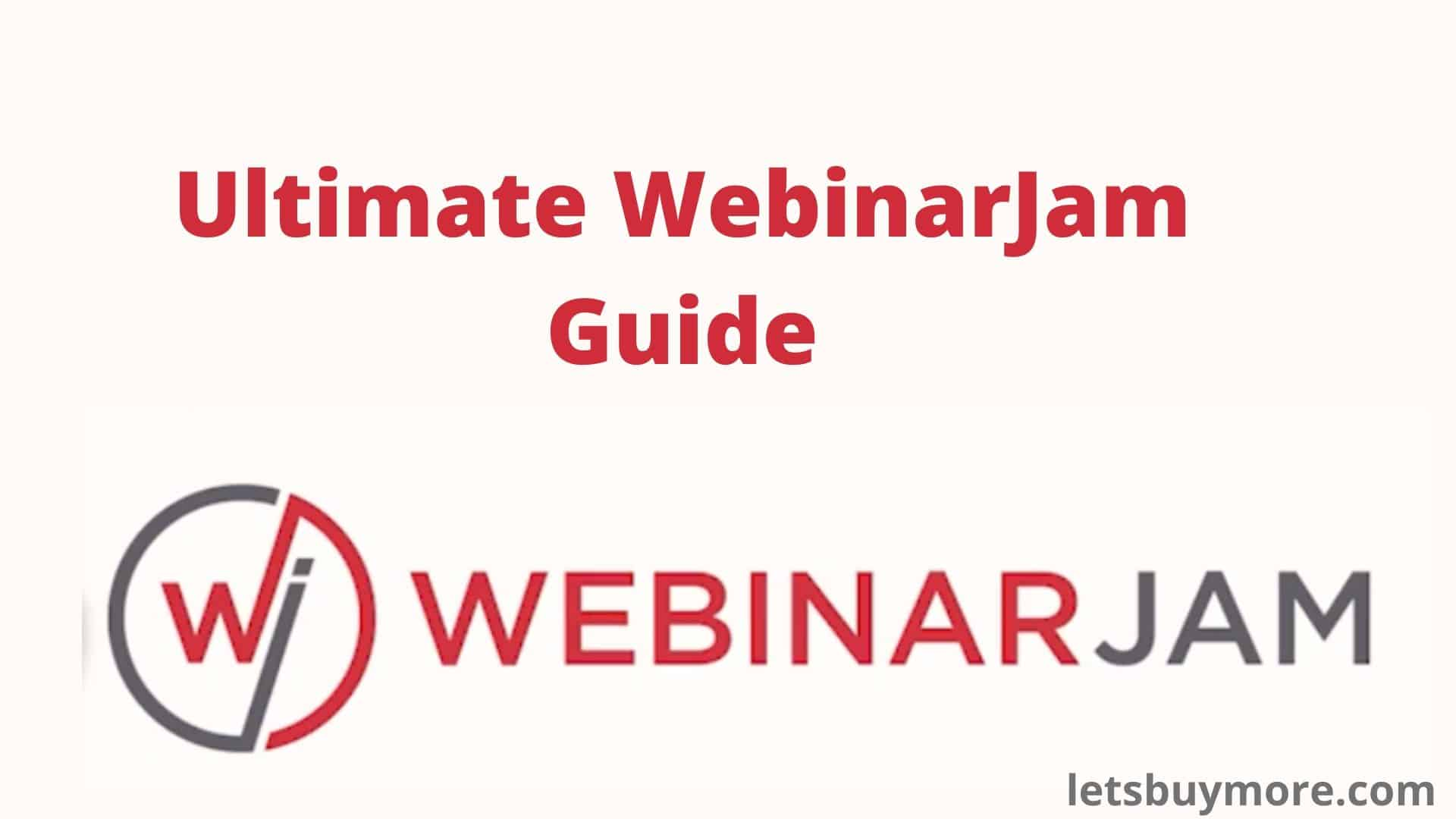 WebinarJam Pricing - Webinar Jam Review Complete Guide