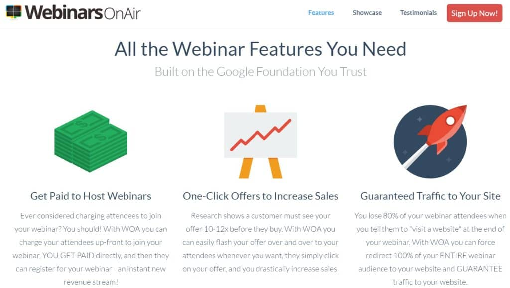 Best Webinar Software - WebinarsOnAir