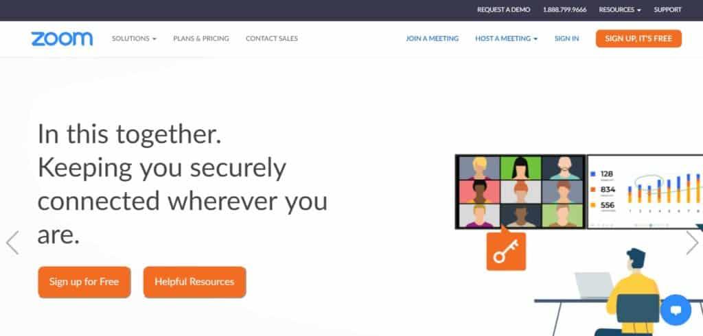 Best Webinar Software - Zoom