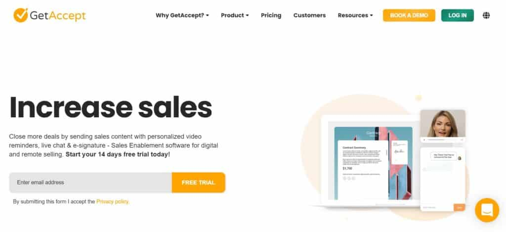 GetAccept Reviews - GetAccept Pricing and Features